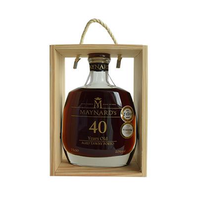 葡萄牙原瓶进口美纳德年份波特葡萄酒 40年
