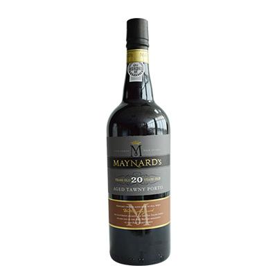 葡萄牙原瓶进口美纳德年份波特葡萄酒20年
